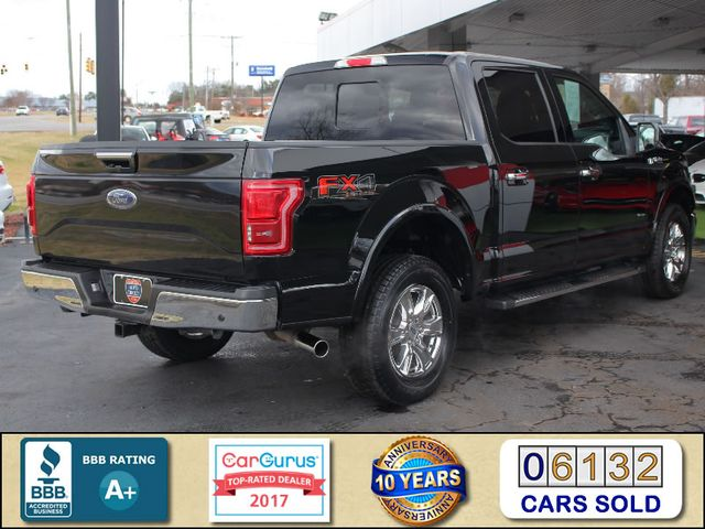 2016 Ford F-150 LARIAT LUXURY SuperCrew 4x4 FX4 - SUNROOFS! Mooresville , NC 2