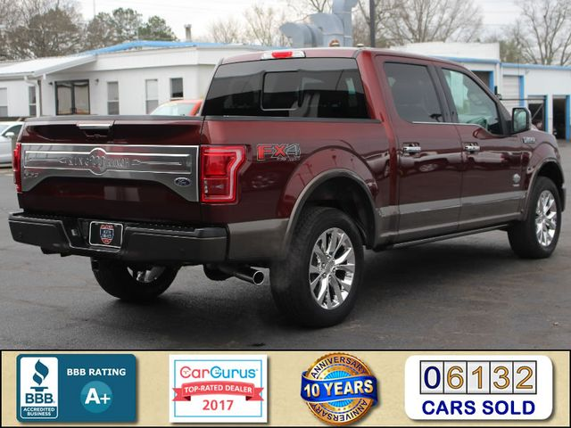 2016 Ford F-150 King Ranch LUXURY EDITION SuperCrew 4x4 FX4 Mooresville , NC 2