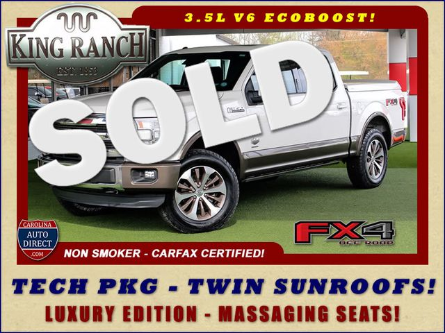 2016 Ford F-150 King Ranch LUXURY EDITION SuperCrew 4x4 FX4 Mooresville , NC 0