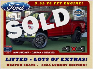 2016 Ford F-150 XLT LUXURY SuperCrew 4x4 - LIFTED - EXTRA$! Mooresville , NC