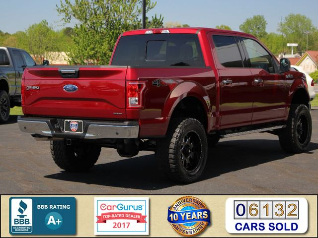 2016 Ford F-150 XLT LUXURY SuperCrew 4x4 - LIFTED - EXTRA$! Mooresville , NC 2
