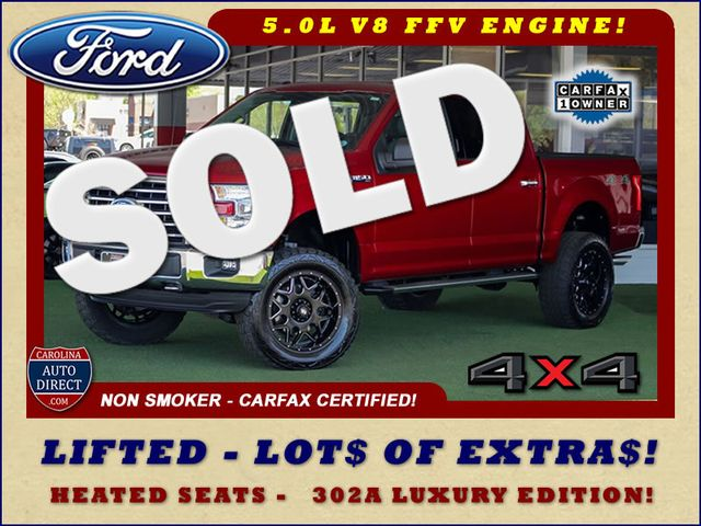 2016 Ford F-150 XLT LUXURY SuperCrew 4x4 - LIFTED - EXTRA$! Mooresville , NC 0