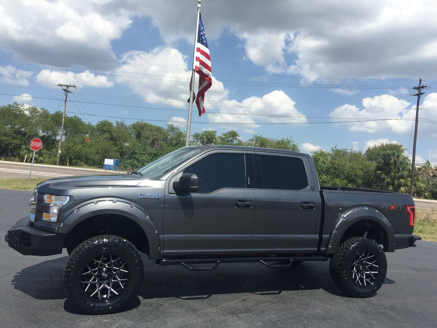 2016 ford f 150 custom lifted leather go rhino winch florida bayshore. Black Bedroom Furniture Sets. Home Design Ideas