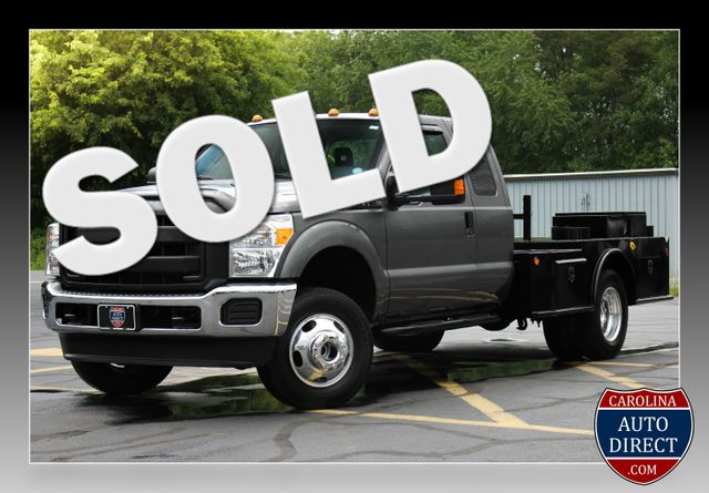 2016 Ford Super Duty F-350 DRW Chassis Cab XL - One Owner - Custom Steel Bed Mooresville , NC 0