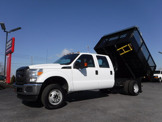 2016 Ford F350 Crew Cab 10FT Dump 4x4 in Lancaster, PA PA