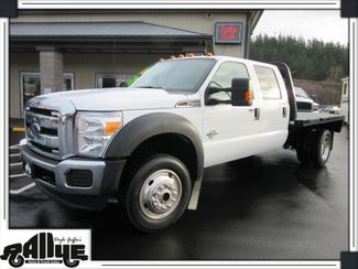 2016 Ford F450 XLT Flatbed 4WD 6.7L Diesel Burlington, WA