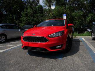 2016 Ford Focus SE HATCHBACK. LEATHER. WHEELS SEFFNER, Florida