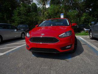 2016 Ford Focus SE HATCHBACK. LEATHER. WHEELS SEFFNER, Florida 6
