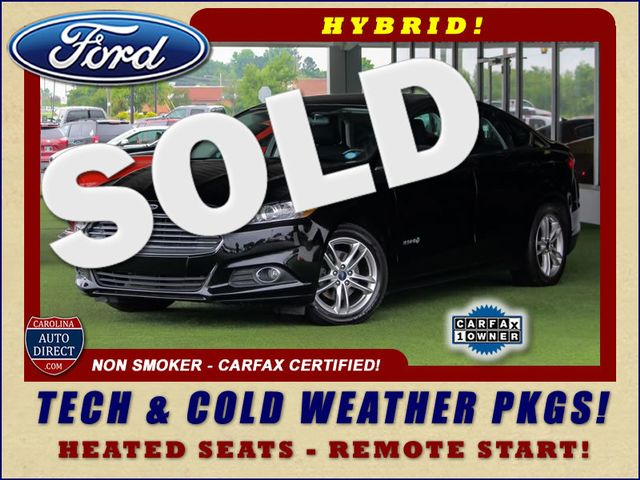 2016 Ford Fusion Hybrid SE FWD - TECH & COLD WEATHER PKGS! Mooresville , NC 0