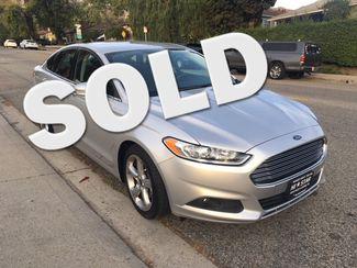 2016 Ford Fusion SE W/REAR SPOILER La Crescenta, CA