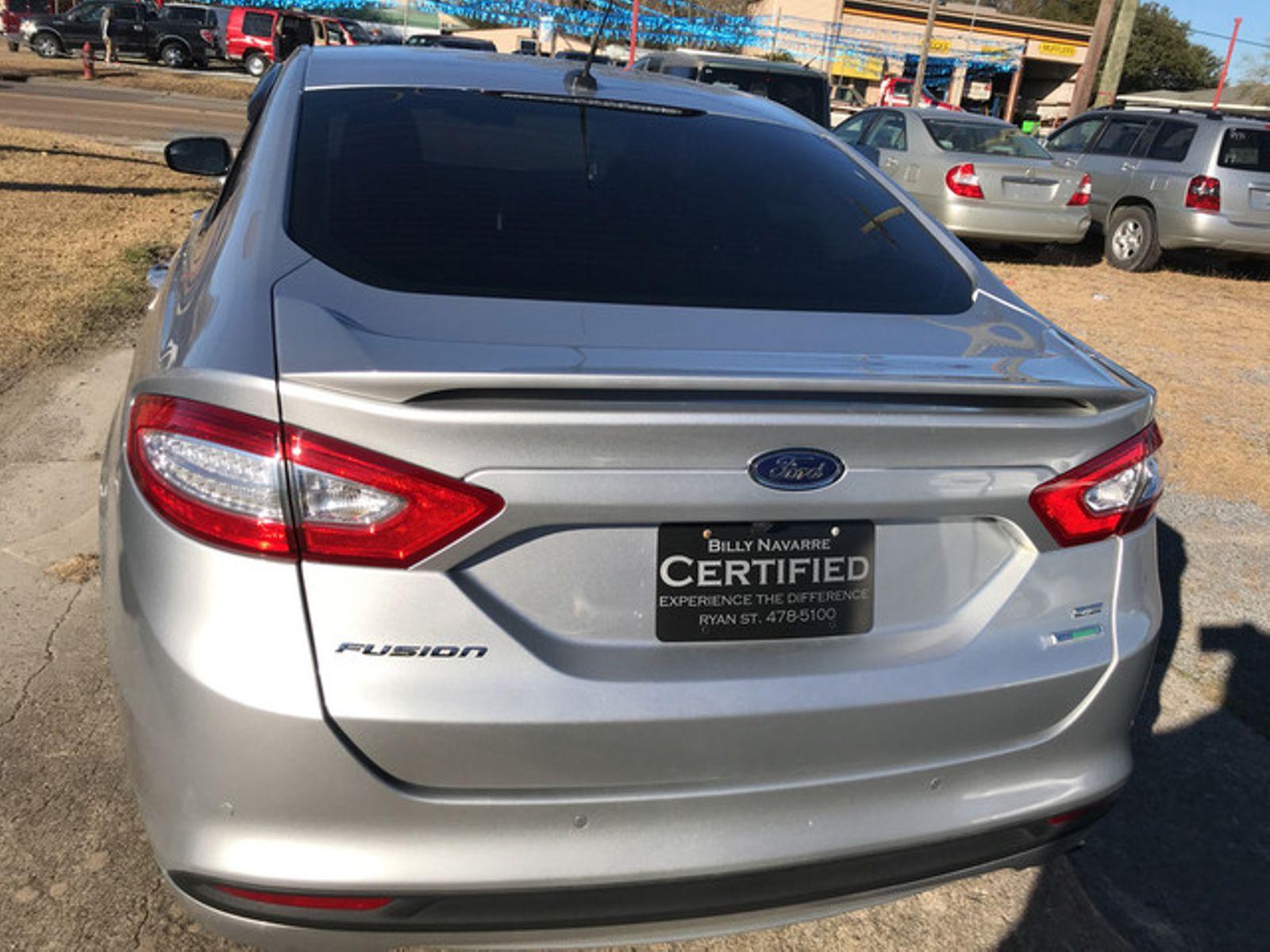 2016 Ford Fusion SE city Louisiana Billy Navarre Certified