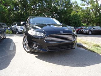 2016 Ford Fusion 2.0t AWD. LEATHER. NAVI. SUNRF. CAM HTD SEATS SEFFNER, Florida 8
