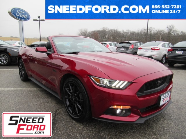 2016 Ford Mustang GT Premium Convertible Gower Missouri