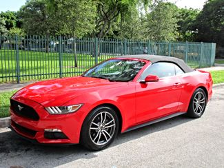 2016 Ford Mustang EcoBoost Premium Miami, Florida