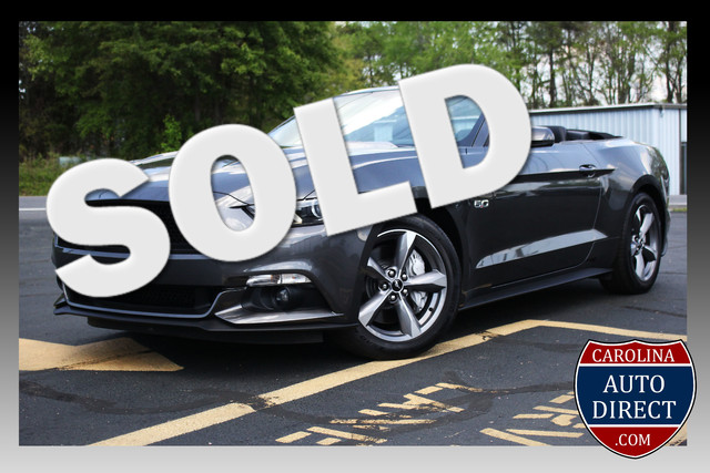 2016 Ford Mustang GT Premium-6SPD-LEATHER!! Mooresville , NC 0