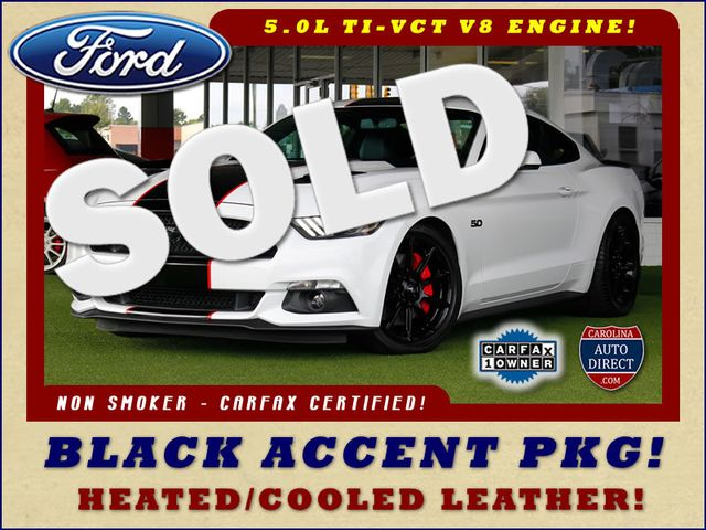 2016 Ford Mustang GT Premium - BLACK ACCENT PKG! Mooresville , NC 0