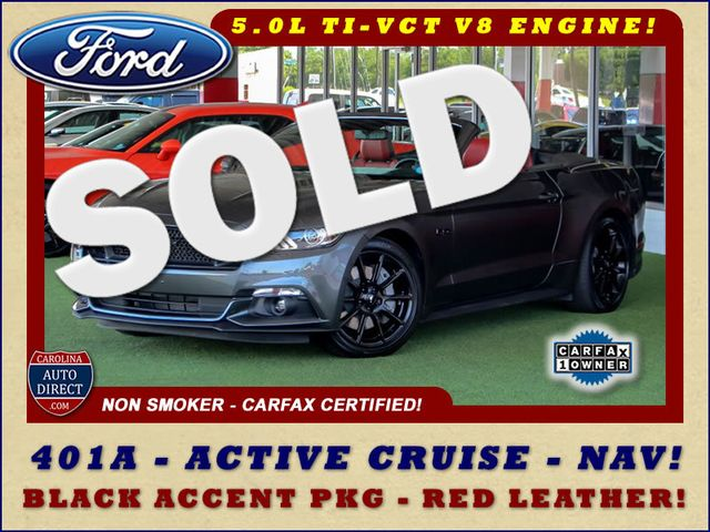2016 Ford Mustang GT Premium - 401A-ACTIVE CRUISE-NAV-BLACK ACCENT! Mooresville , NC 0