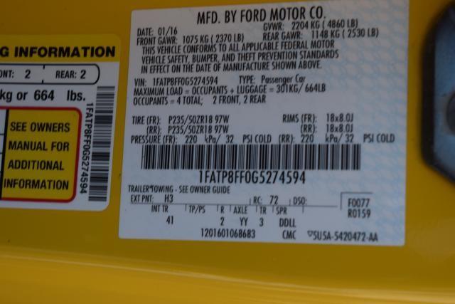 2016 Ford Mustang GT Premium Richmond Hill, New York 23