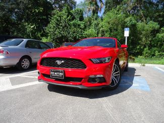 2016 Ford Mustang EcoBoost Premium Convertible SEFFNER, Florida