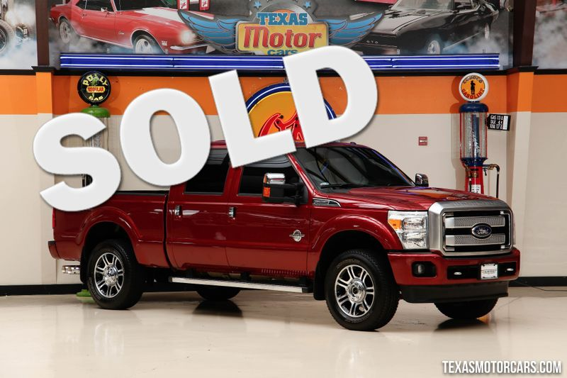 2016 Ford Super Duty F-250 Pickup Platinum  in Addison, Texas