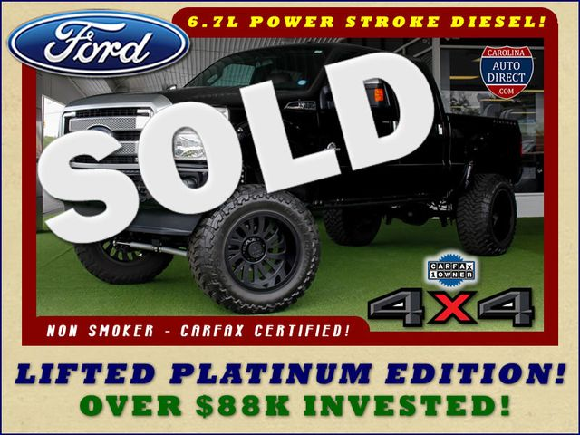 2016 Ford Super Duty F-250 Pickup Platinum Crew Cab 4X4 - LIFTED! Mooresville , NC 0