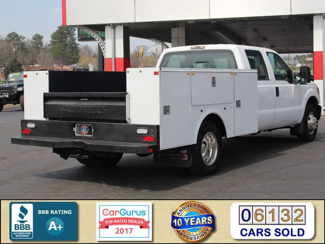 2016 Ford Super Duty F-350 DRW Chassis Cab XL Crew Cab RWD - AUTO TRUCK SERVICE BODY! Mooresville , NC 2