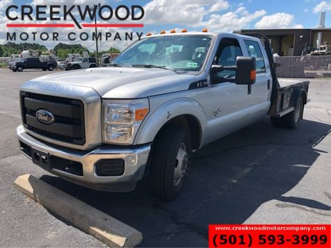 2016 Ford Super Duty F-350 XLT 2wd Diesel Dually Flatbed Utility Service Bed in Searcy, AR