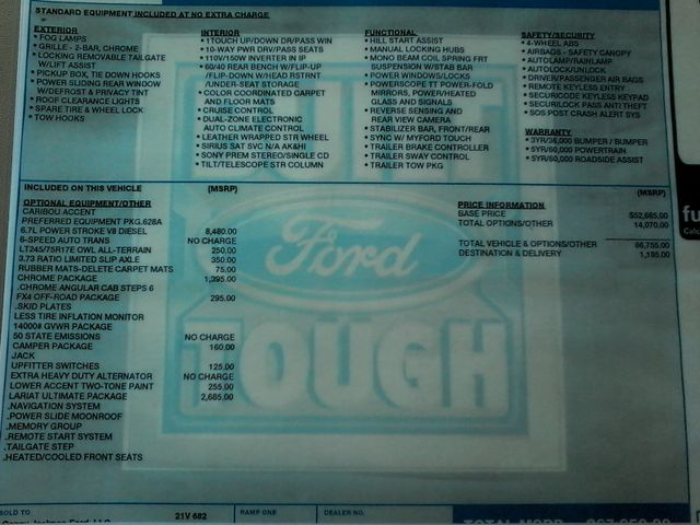 2016 Ford Super Duty F-350 DRW Pickup Lariat 6.7 Power Stroke San Antonio, Texas 44