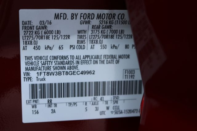2016 Ford Super Duty F-350 SRW Pickup XLT Mooresville, North Carolina 84
