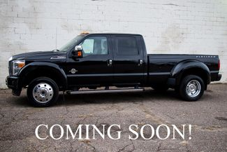 2016 Ford Super Duty F-450 Crew Cab Platinum Turbo Diesel in Eau Claire, Wisconsin