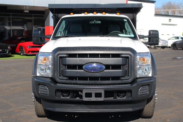 2016 Ford Super Duty F-550 DRW Chassis Cab XL Crew Cab RWD w/ PJ'S 12' DUMP BED (10 CU YDS) Mooresville , NC 16