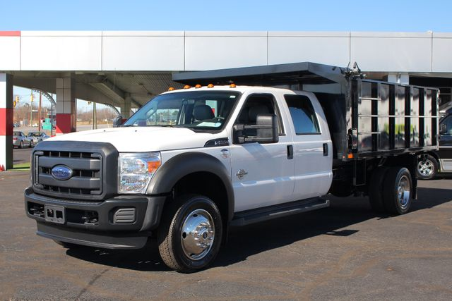 2016 Ford Super Duty F-550 DRW Chassis Cab XL Crew Cab RWD w/ PJ'S 12' DUMP BED (10 CU YDS) Mooresville , NC 23