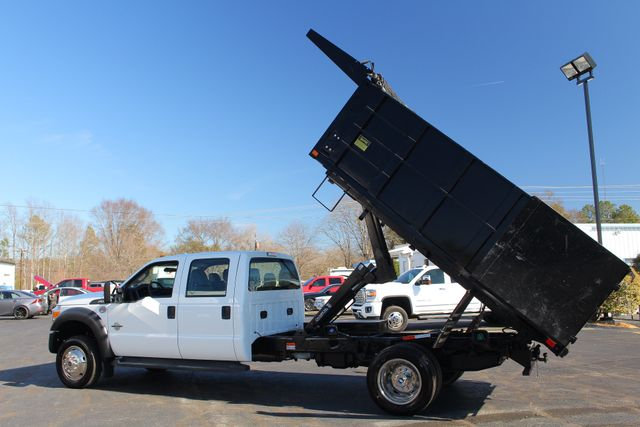 2016 Ford Super Duty F-550 DRW Chassis Cab XL Crew Cab RWD w/ PJ'S 12' DUMP BED (10 CU YDS) Mooresville , NC 4