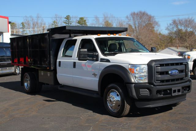 2016 Ford Super Duty F-550 DRW Chassis Cab XL Crew Cab RWD w/ PJ'S 12' DUMP BED (10 CU YDS) Mooresville , NC 22