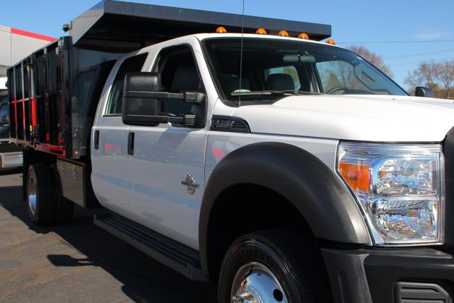 2016 Ford Super Duty F-550 DRW Chassis Cab XL Crew Cab RWD w/ PJ'S 12' DUMP BED (10 CU YDS) Mooresville , NC 24