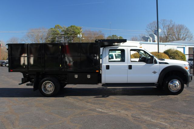 2016 Ford Super Duty F-550 DRW Chassis Cab XL Crew Cab RWD w/ PJ'S 12' DUMP BED (10 CU YDS) Mooresville , NC 14