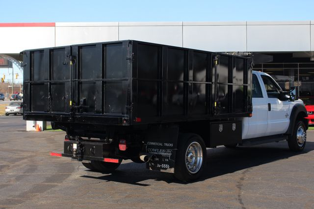 2016 Ford Super Duty F-550 DRW Chassis Cab XL Crew Cab RWD w/ PJ'S 12' DUMP BED (10 CU YDS) Mooresville , NC 26