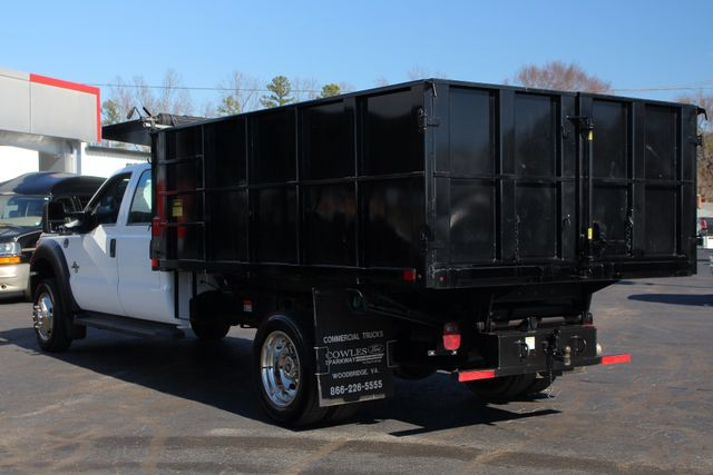 2016 Ford Super Duty F-550 DRW Chassis Cab XL Crew Cab RWD w/ PJ'S 12' DUMP BED (10 CU YDS) Mooresville , NC 27
