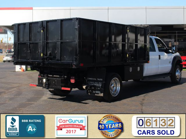 2016 Ford Super Duty F-550 DRW Chassis Cab XL Crew Cab RWD w/ PJ'S 12' DUMP BED (10 CU YDS) Mooresville , NC 2