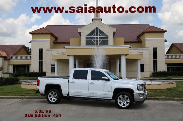 2016 Gmc Sierra 1500 Crew Cab Sle Z71 4WD LEATHER NAVI HTD SEATS 20S  BED COVER TOW PKG ONE OWNER CARFAX SERVICED DETAILED READY TO GEAUX | Baton Rouge , Louisiana | Saia Auto Consultants LLC in Baton Rouge  Louisiana
