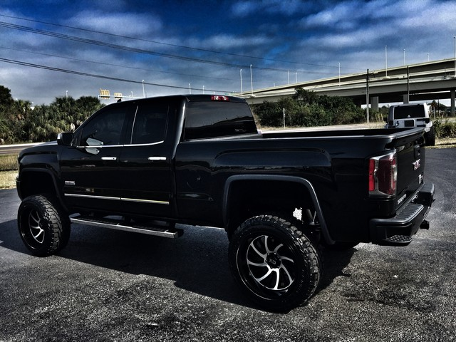 2016 gmc sierra 1500 custom lifted all terrain 4x4 v8 ebay. Black Bedroom Furniture Sets. Home Design Ideas