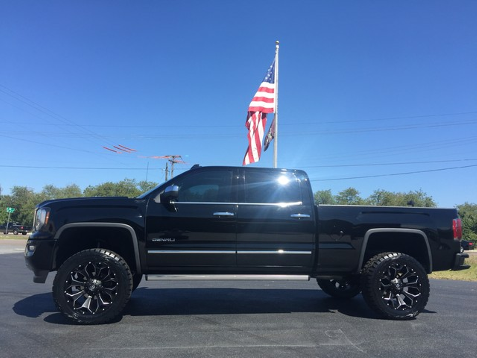2016 gmc sierra 1500 denali custom lifted florida bayshore automotive. Black Bedroom Furniture Sets. Home Design Ideas