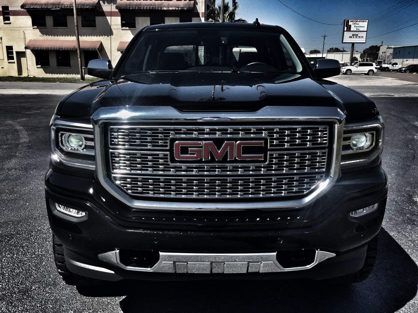 2016 gmc sierra 1500 denali custom lifted ultimate florida bayshore automotive. Black Bedroom Furniture Sets. Home Design Ideas
