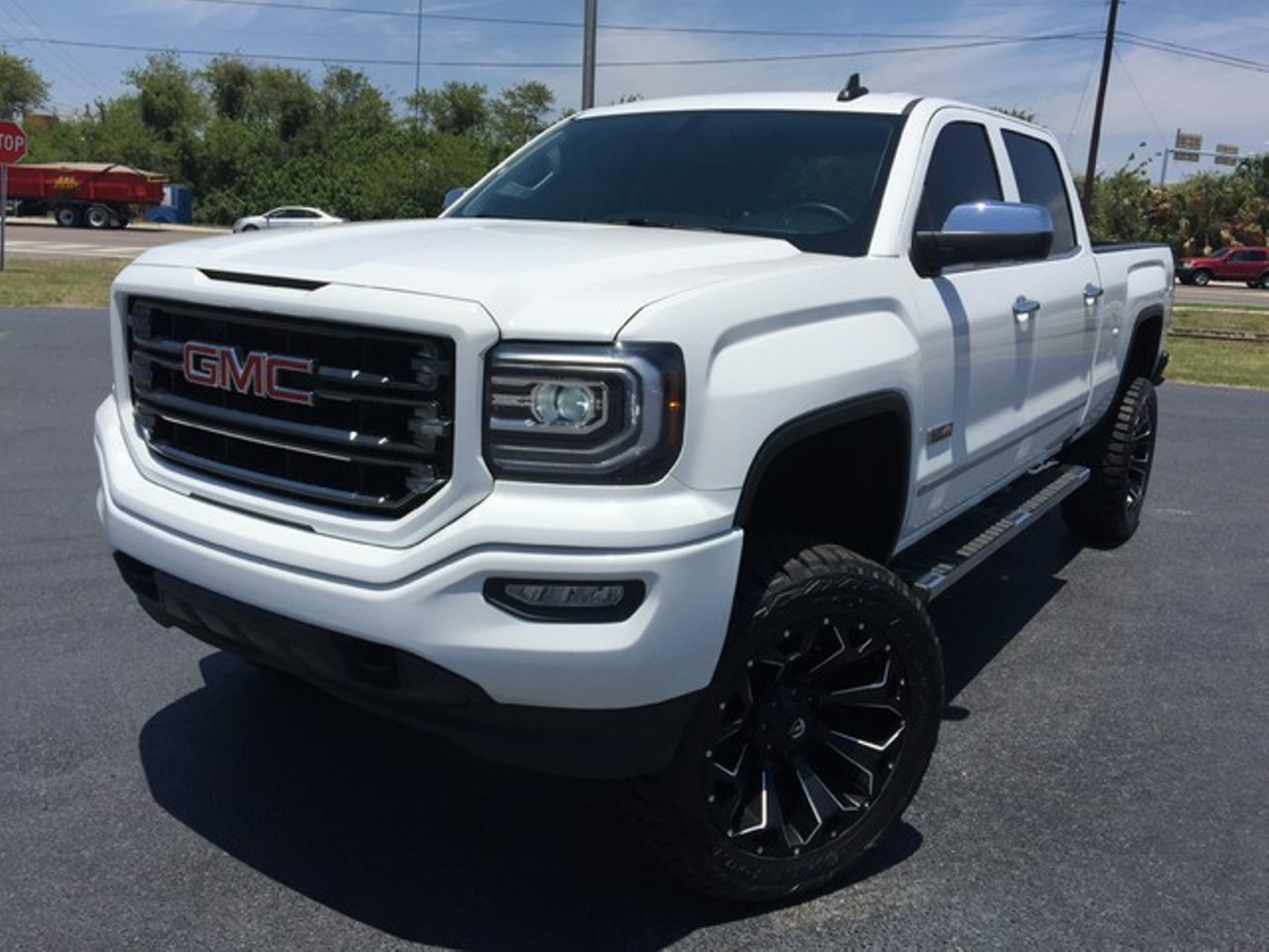 2016 gmc sierra 1500 all terrain custom lifted 22s florida bayshore automotive. Black Bedroom Furniture Sets. Home Design Ideas