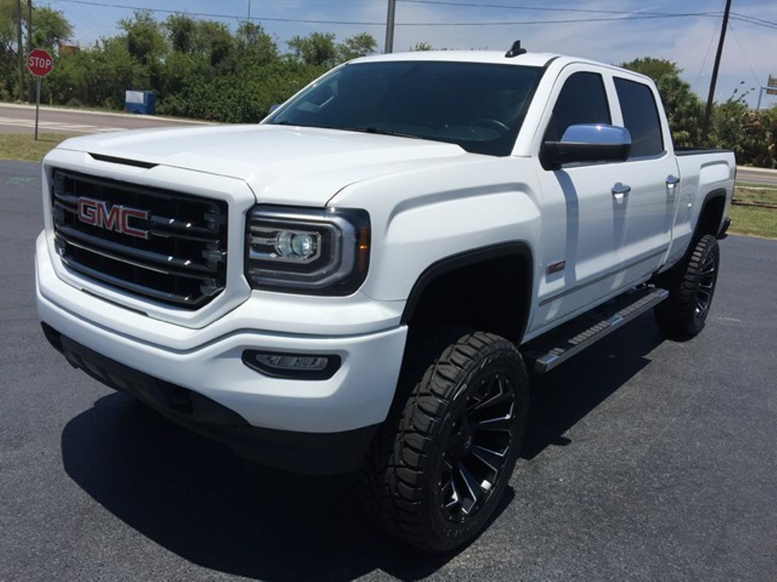 2016 gmc sierra 1500 all terrain custom lifted 22s florida. Black Bedroom Furniture Sets. Home Design Ideas
