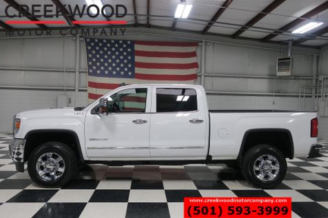 2016 GMC Sierra 2500HD SLT 4x4 Diesel White Chrome Leather Htd Nav 1Owner in Searcy, AR
