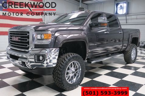 2016 GMC Sierra 2500HD SLT 4x4 Diesel Z71 Lifted Crome 20s New Tires Nav in Searcy, AR