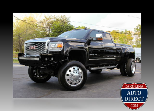2016 gmc sierra 3500hd denali lifted diesel 4x4 onyx black pickup truck 8 aut for sale in. Black Bedroom Furniture Sets. Home Design Ideas