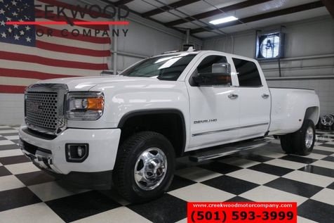 2016 GMC Sierra 3500HD Denali 4x4 Diesel Dually Chrome Nav Roof 1 Owner in Searcy, AR