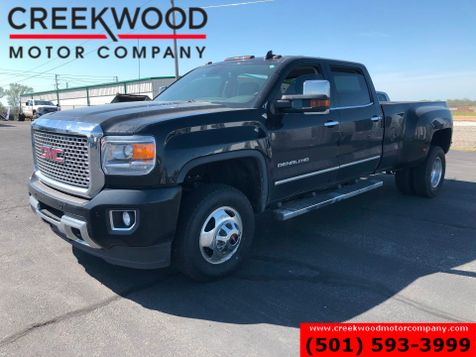 2016 GMC Sierra 3500HD Denali 4x4 Diesel Dually Black Nav Sunroof 1Owner in Searcy, AR